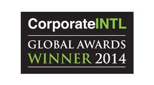 Corporate INTL Global Awards Winner 2014