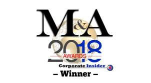 M&A 2018 Awards Winner